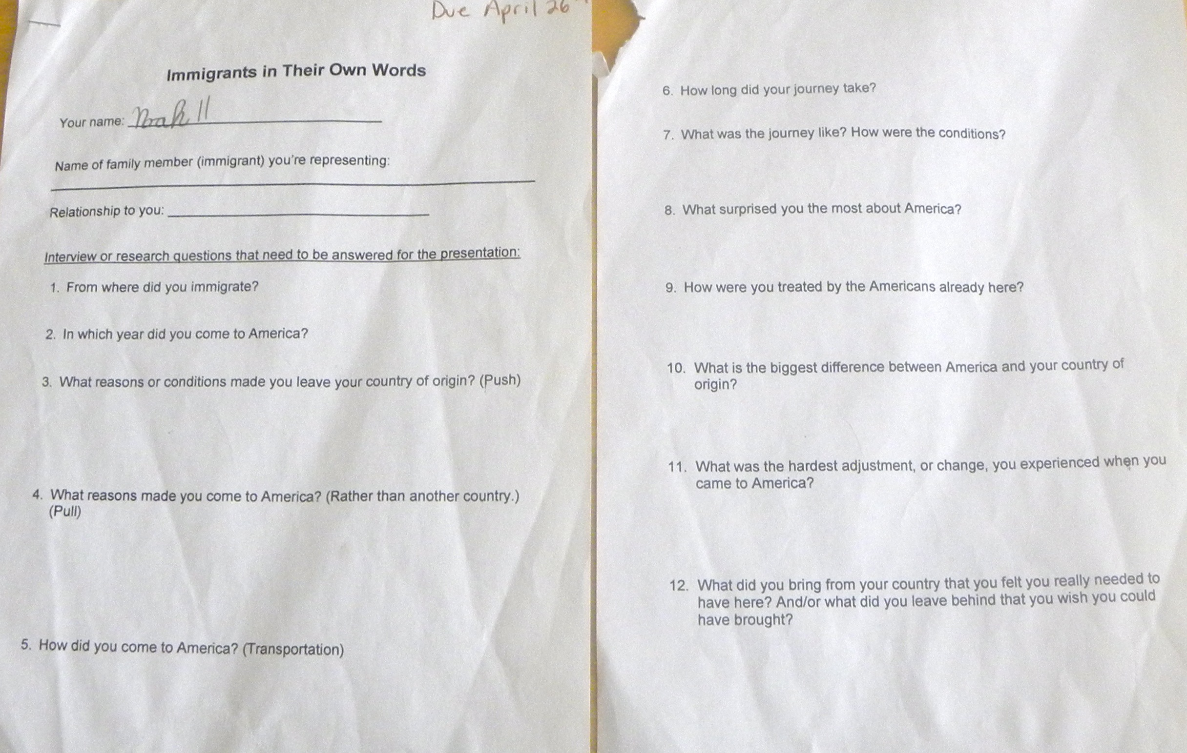 Who Really Discovered America Worksheet Answers