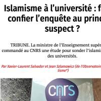 Islamisme à l'université : faut-il confier l'enquête au principal suspect ?