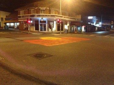 Street art night