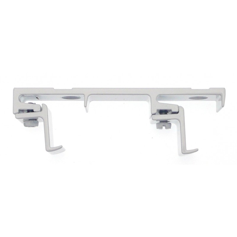 support tringle plafond double 24x16 blanc