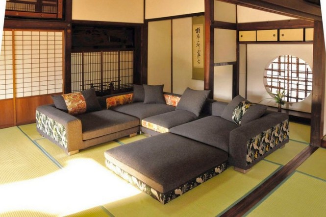Anese Style Living Room Ideas With Wooden Table And Futon Mattress Other Related Images Gallery