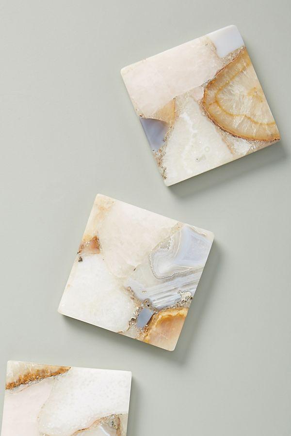 Sous-verre fait pierres précieuses