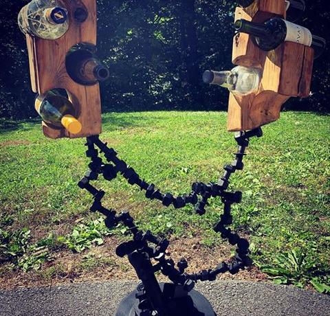 sculpture métal recyclé