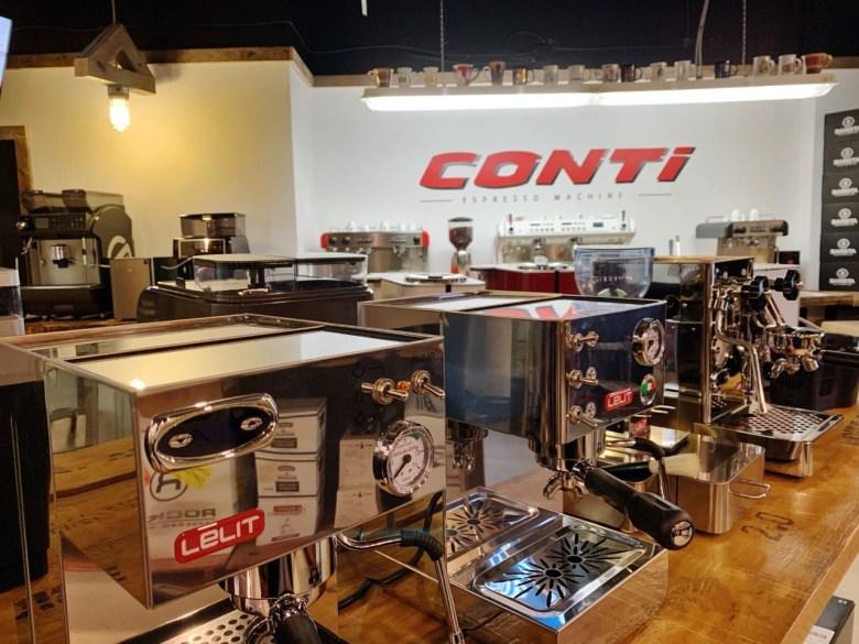 Machine pro à café Conti
