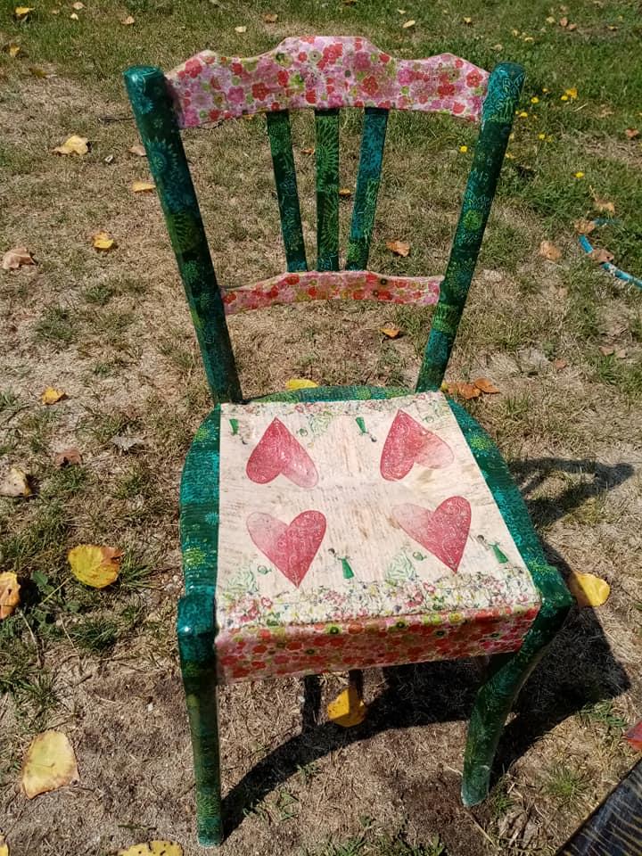 chaise grand-mère