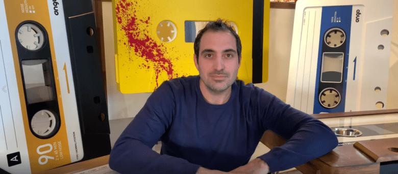 Julien Dejardin et ses tables cassettes Ango