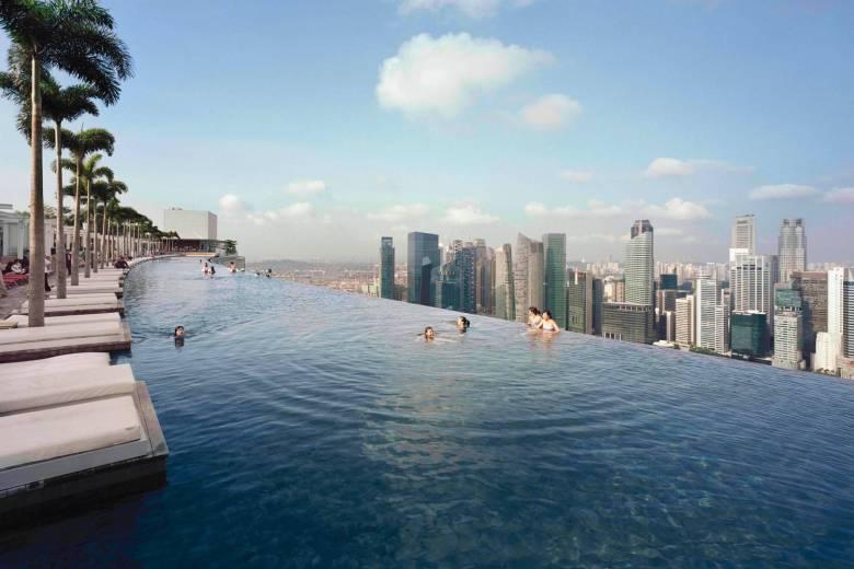 Marina Bay Sands, Singapour.