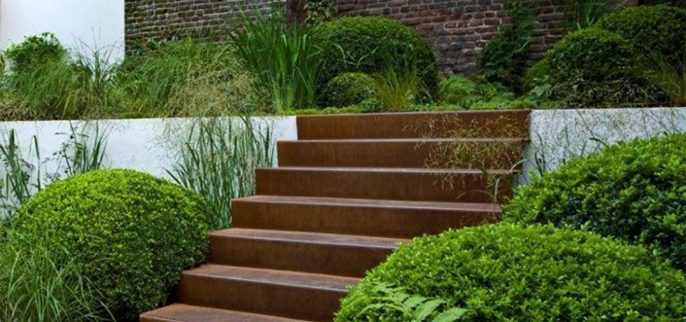 Escalier pour votre jardin