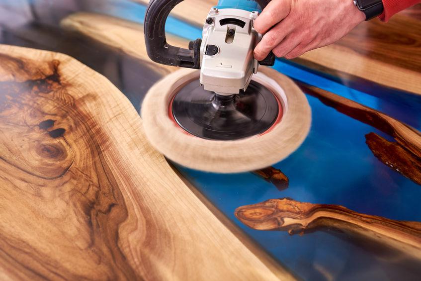 Fabriquer une table rivière