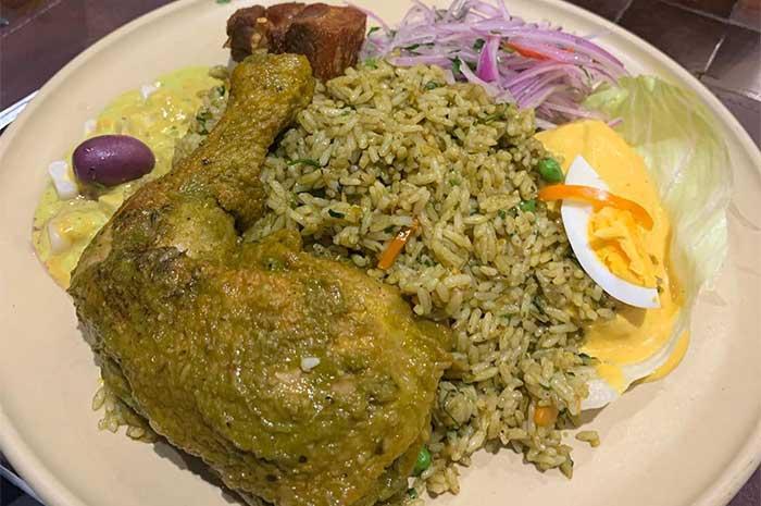 como preparar arroz con pollo