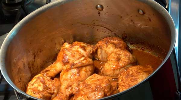 pollo a la olla ingredientes