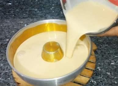 mezcla para crema volteada
