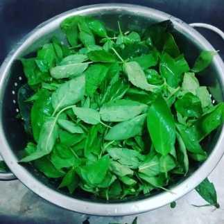 como hacer tallarines verdes