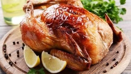 como preparar pollo al horno jugoso