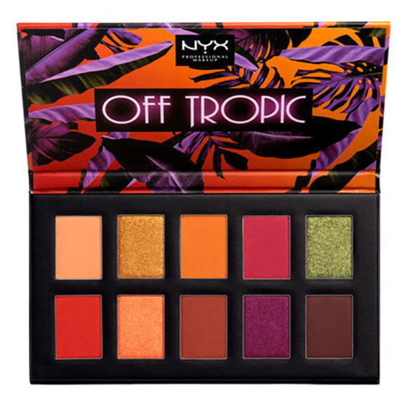 Nyx Cosmetics Palette Off Tropic