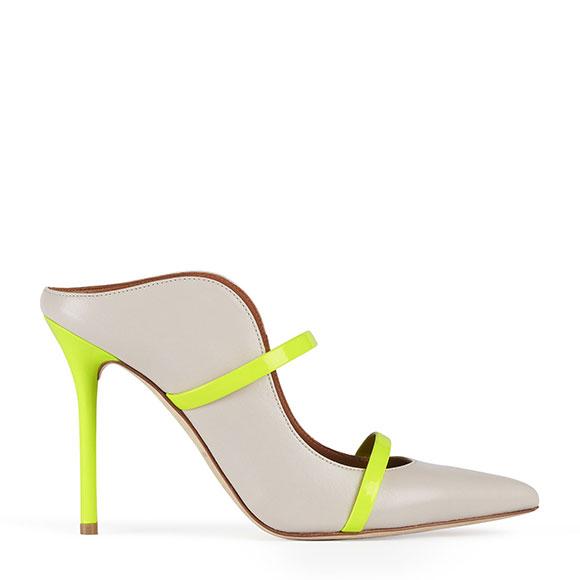 Chaussure jaune fluo