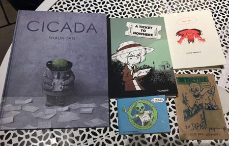 Comics from CAT and Kaigai 2018 pt 1