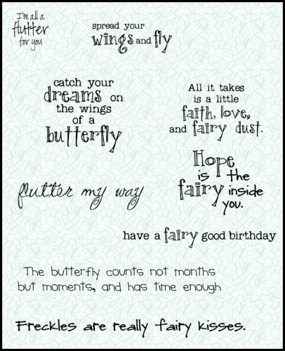 all a flutter sentiments