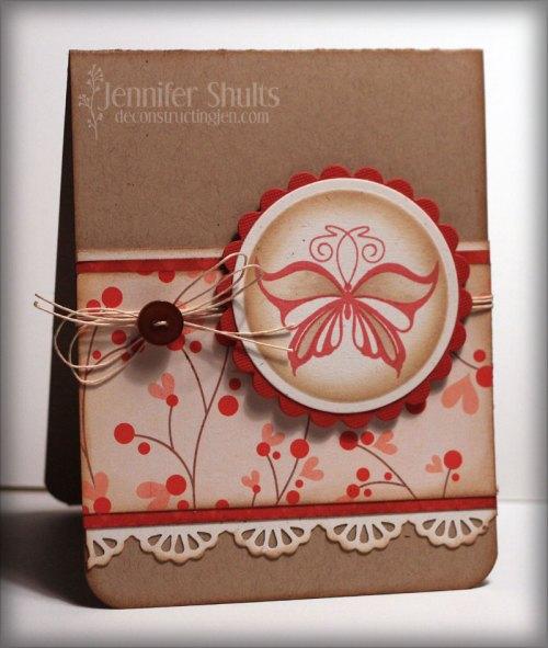 Flutterby card 1