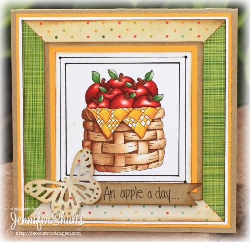 An Apple a Day Card