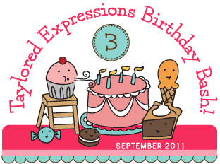 Taylored Expressions Birthday Bash Banner