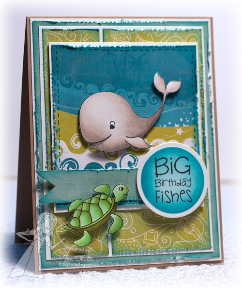 Big Birthday Fishes by Jen Shults