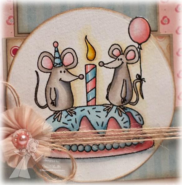 Happy Birthday detail by Jen Shults