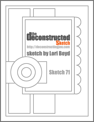 Deconstructed Sketch No. 71 ~ by Lori Boyd