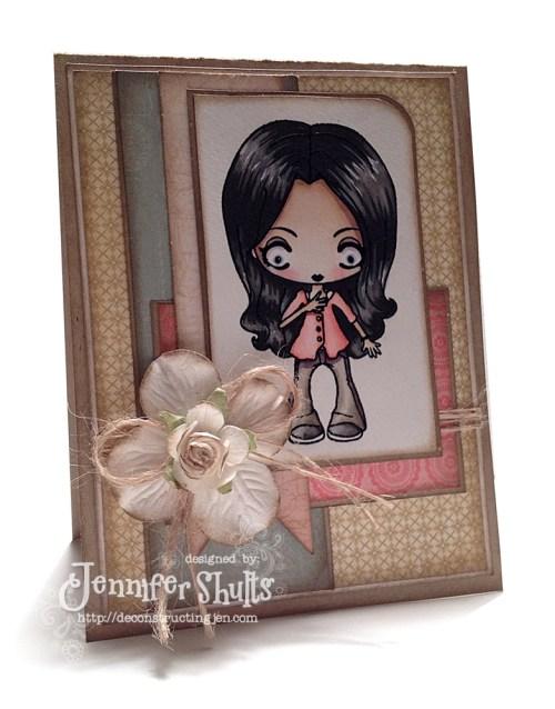 TGF Sadie, card by Jen Shults