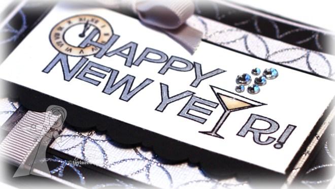 Happy New Year Detail by Jen Shults