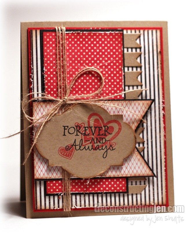 DS85   Forever and Always   by Jen Shults   Verve Stamps