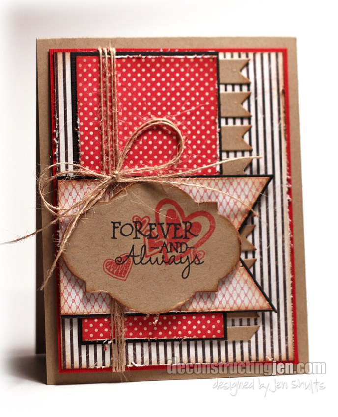 DS85 | Forever and Always | by Jen Shults | Verve Stamps