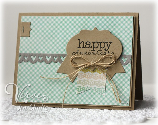Happy Anniversary by Jen Shults for Verve Stamps