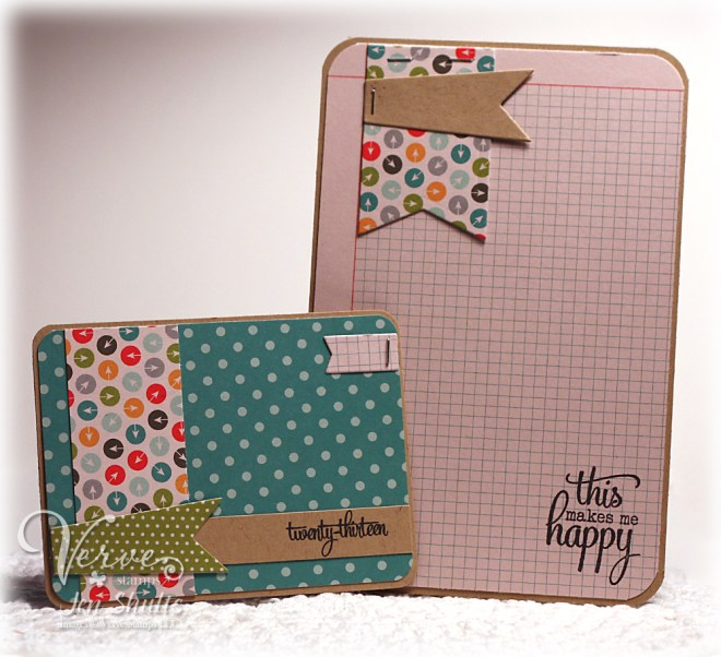Project Life Cards by Jen Shults for Verve Stamps