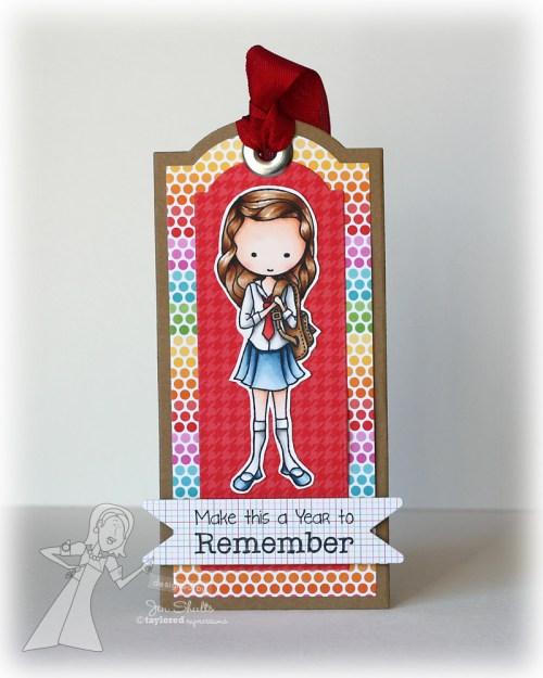 Start of the school year bookmark