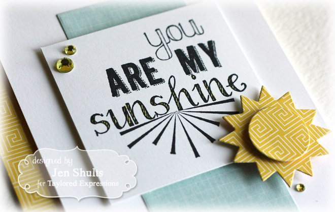 You Are My Sunshine by Jen Shults