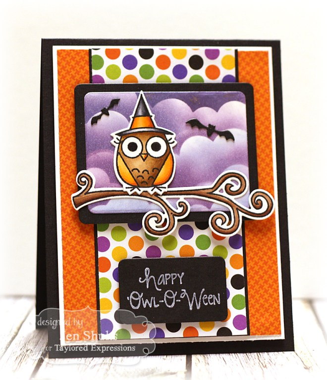 Happy Owl-o-ween, halloween card