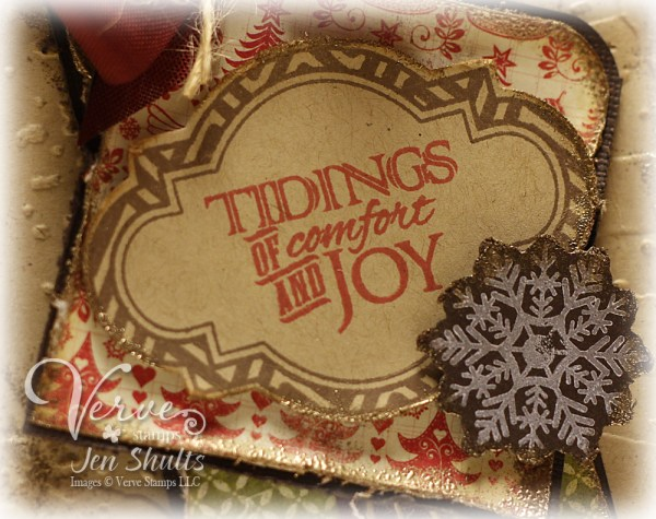 Tidings of Comfort by Jen Shults, Stamps by Verve Stamps
