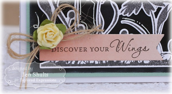Discover Your Wings by Jen Shults, Stamps and dies from Taylored Expressions