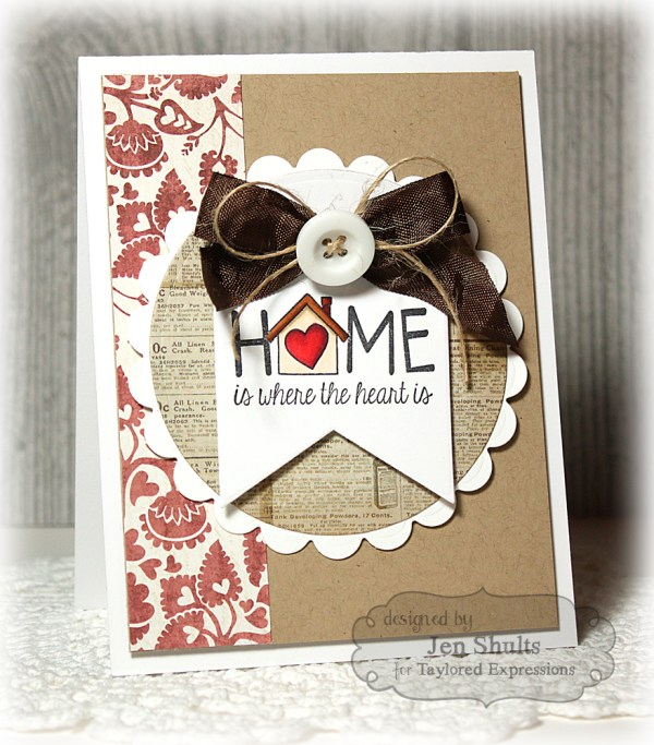 Home Is Where the Heart Is by Jen Shults