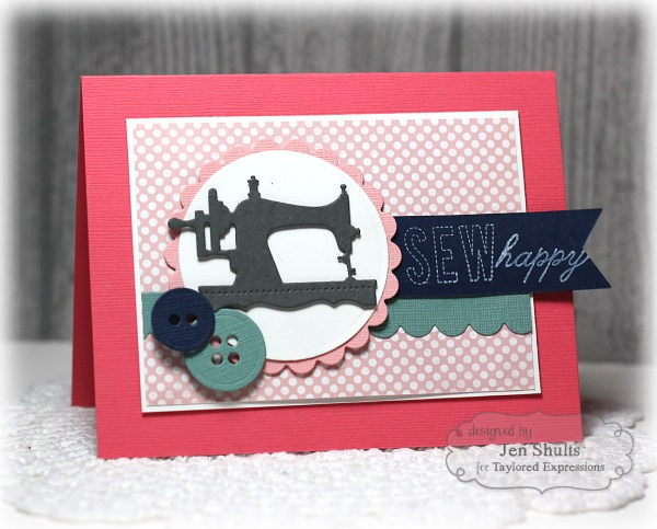 Sew Happy by Jen Shults
