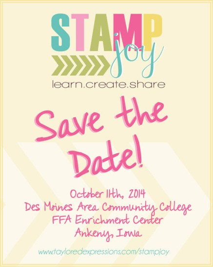 Stamp Joy Save The Date