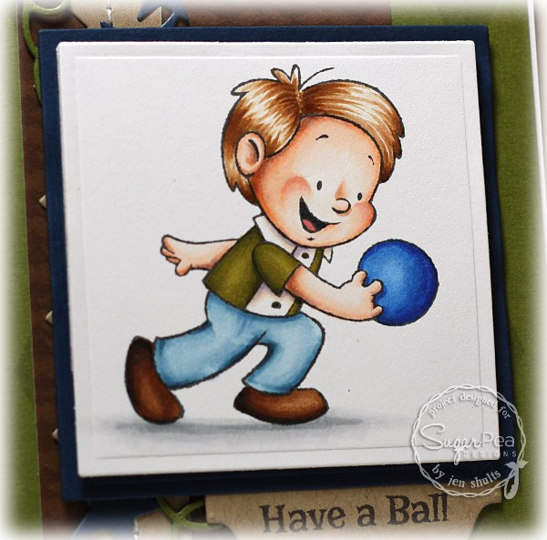 Have a Ball by Jen Shults, stamps by Sugar Pea Designs