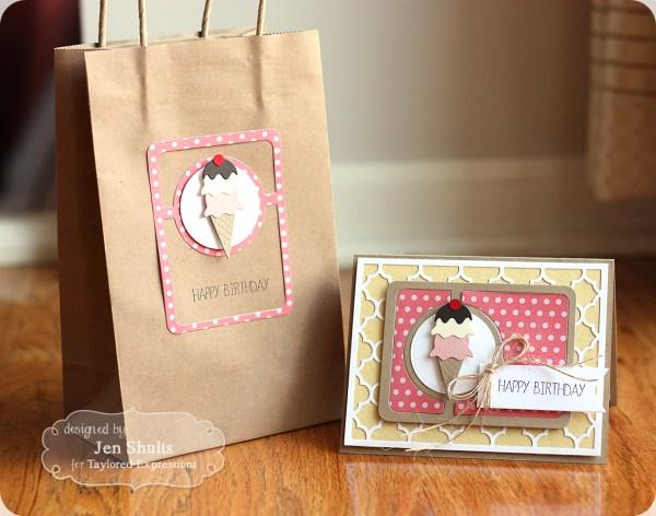 Happy Birthday gift set by Jen Shults