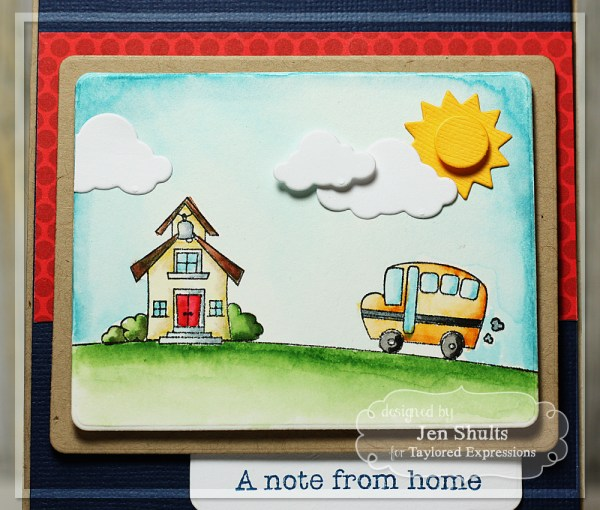 A Note From Home by Jen Shults