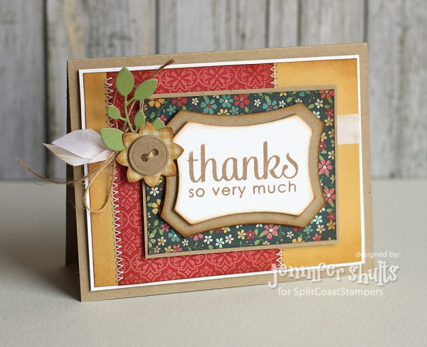 Thanks So Very Much by Jen Shults