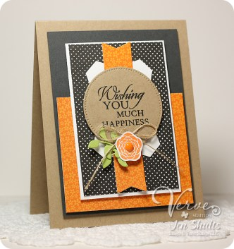 Much Happiness by Jen Shults using Inspire Hope from Verve