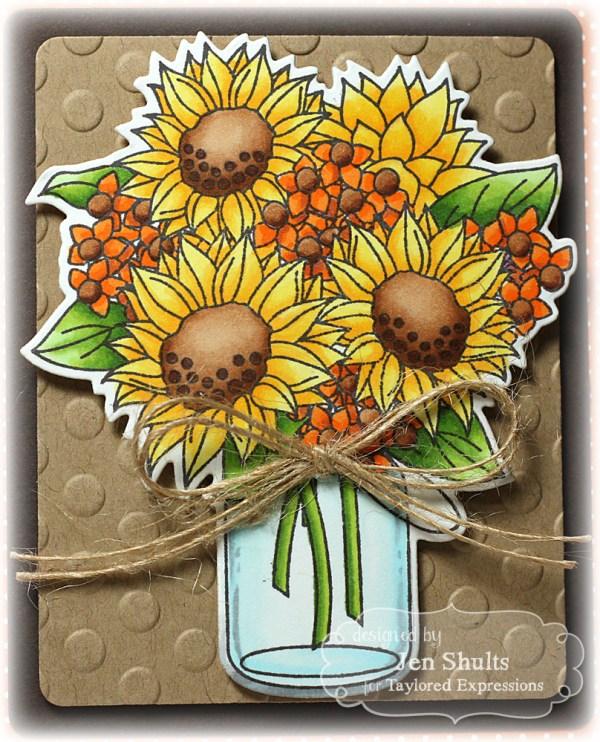 Jen-SunflowerBouquet-Thurs2
