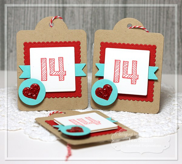 Valentine Tags by Jen Shults