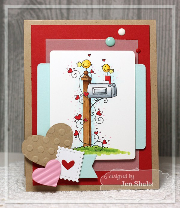 You've Got Mail Valentine by Jen Shults